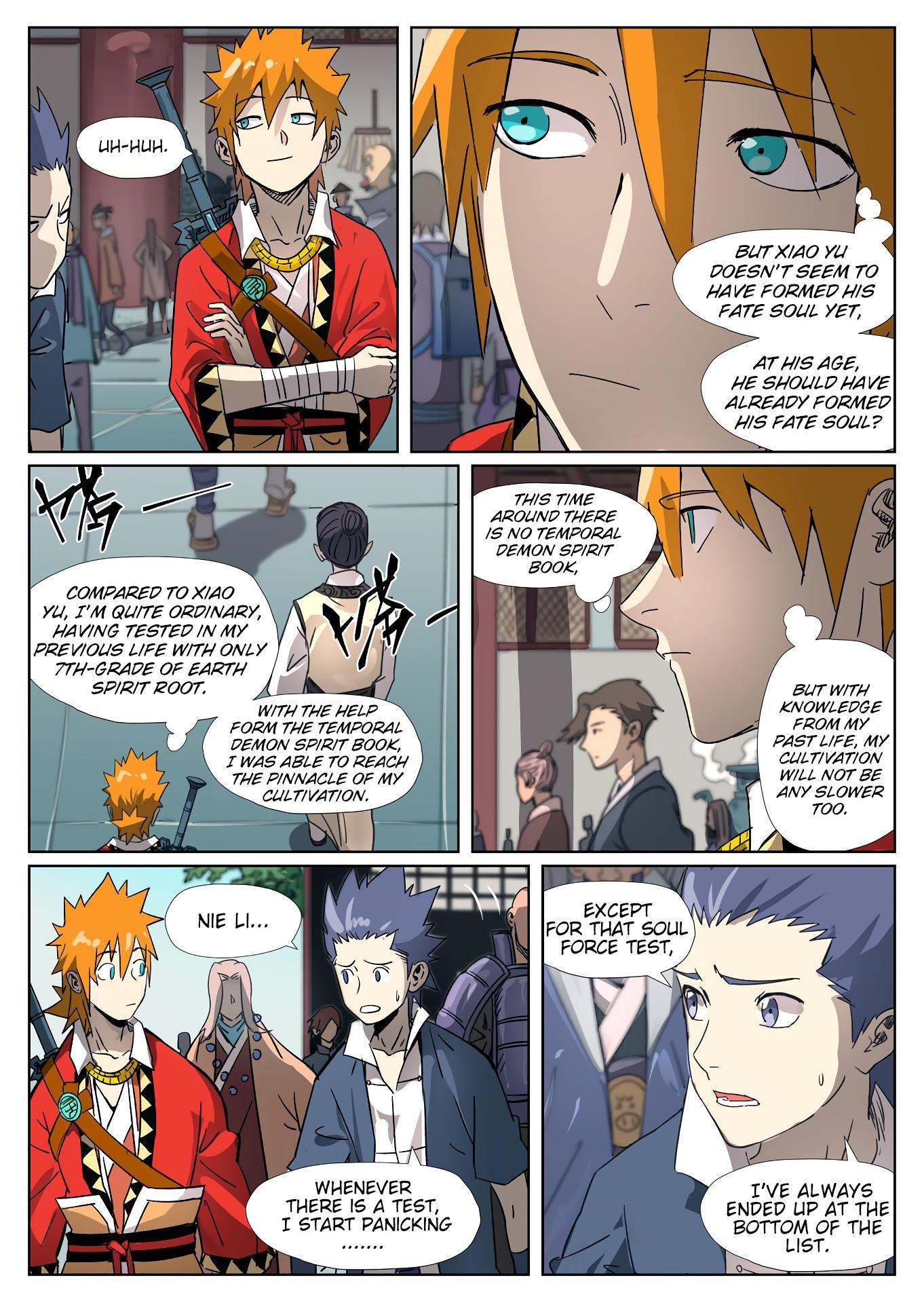 Tales Of Demons And Gods Chapter 297.5 page 8 - Mangakakalots.com