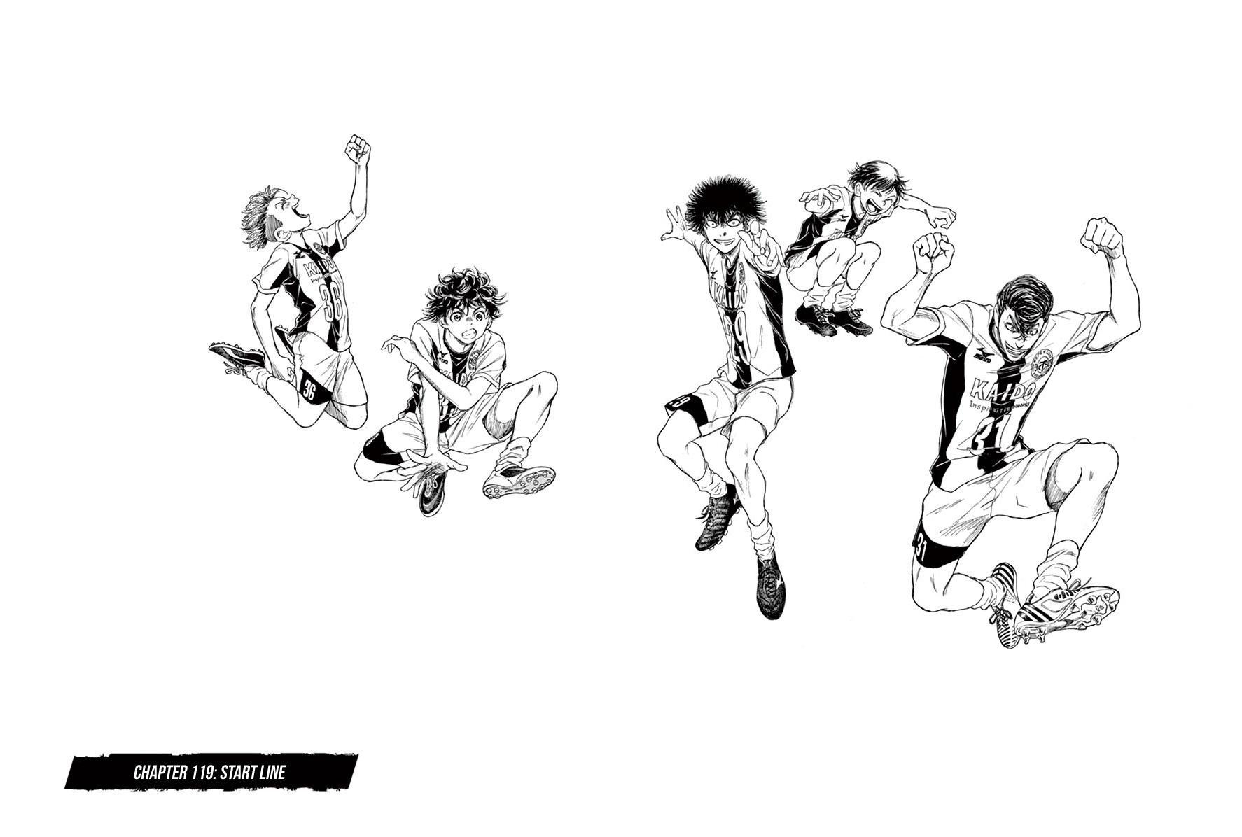 Ao Ashi Vol.12 Chapter 119: Start Line page 7 - Mangakakalots.com