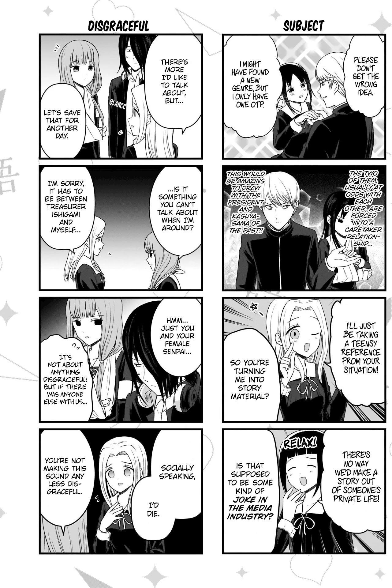 We Want To Talk About Kaguya Chapter 135 page 4 - Mangakakalots.com