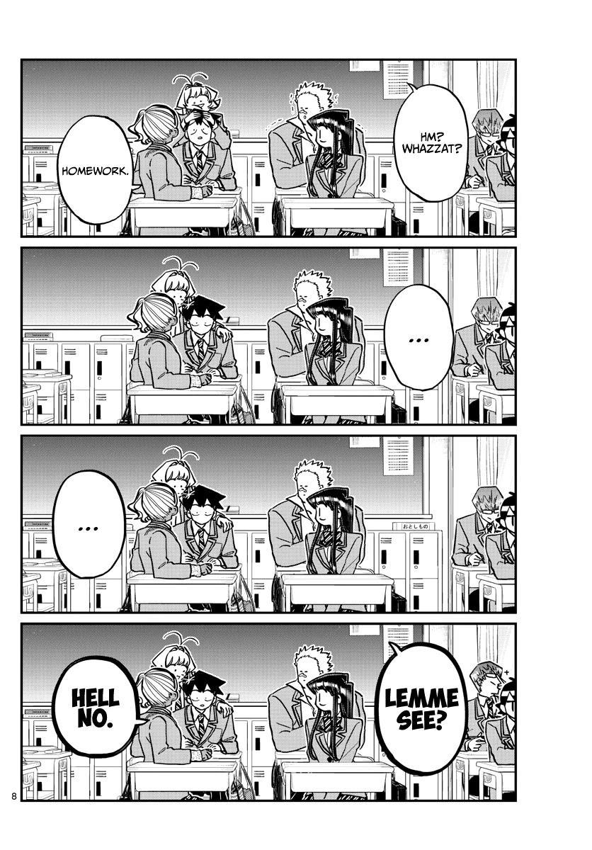 Komi-San Wa Komyushou Desu Chapter 298 page 8 - Mangakakalot