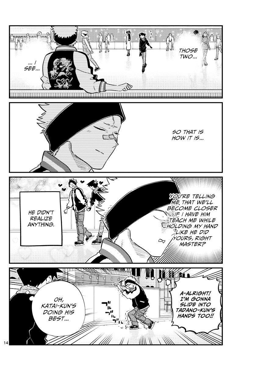 Komi-San Wa Komyushou Desu Vol.7 Chapter 95: Ice Skating page 14 - Mangakakalot