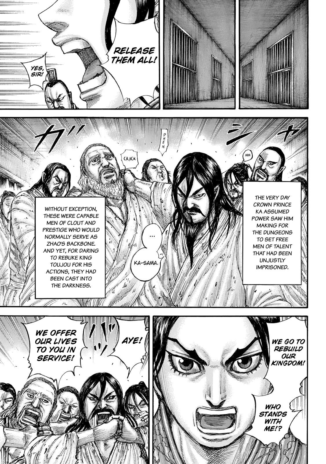 Kingdom Chapter 645: Zhao King's Decree page 9 - Mangakakalots.com