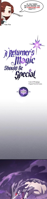 A Returner's Magic Should Be Special Chapter 153 page 2 - Mangakakalots.com