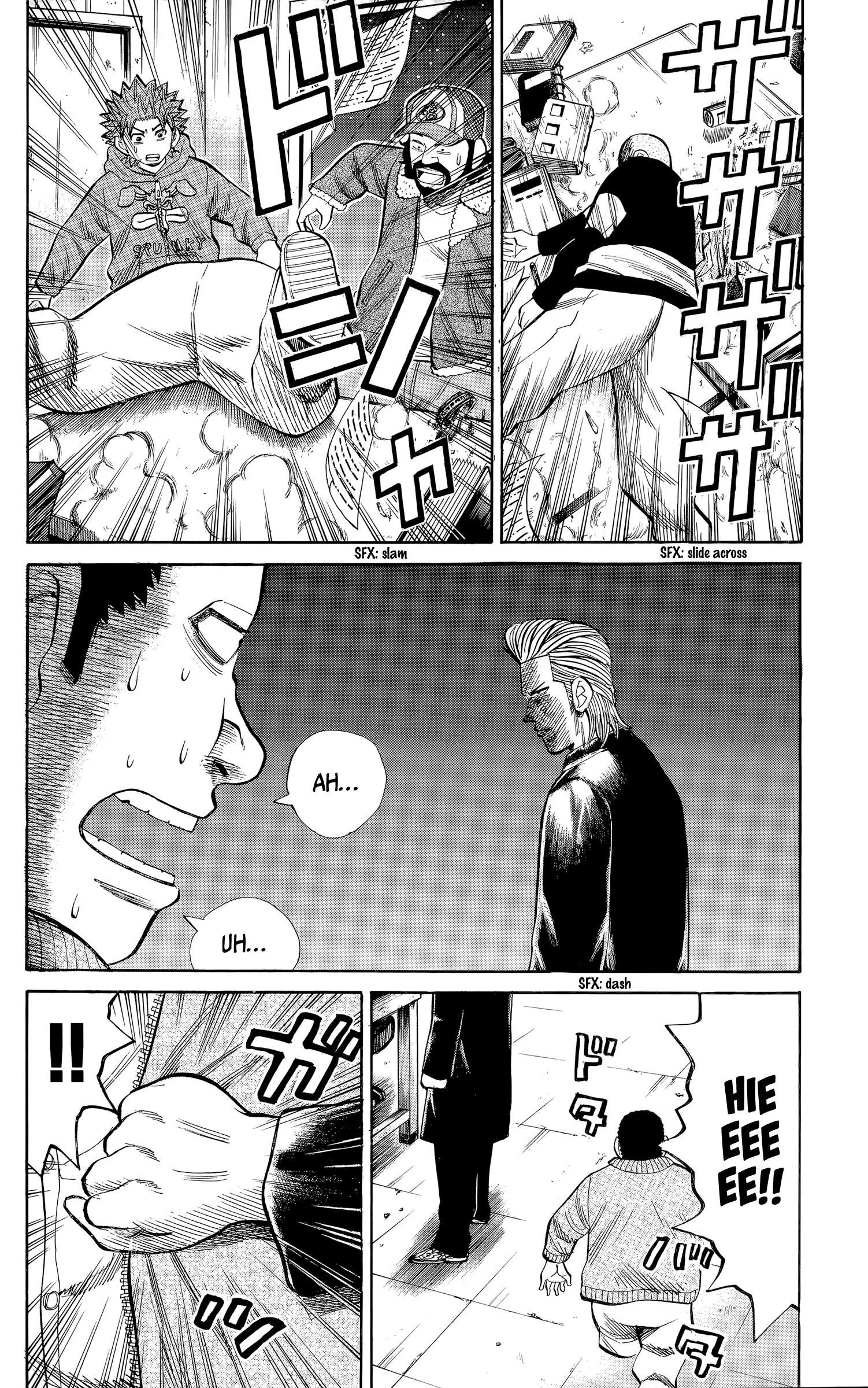 Nanba Mg5 Vol.12 Chapter 104: The Beast Has Been Unleashed page 6 - Mangakakalots.com