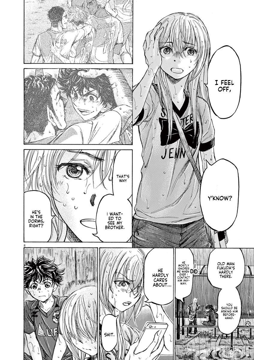 Ao Ashi Vol.12 Chapter 117: Rain page 9 - Mangakakalots.com