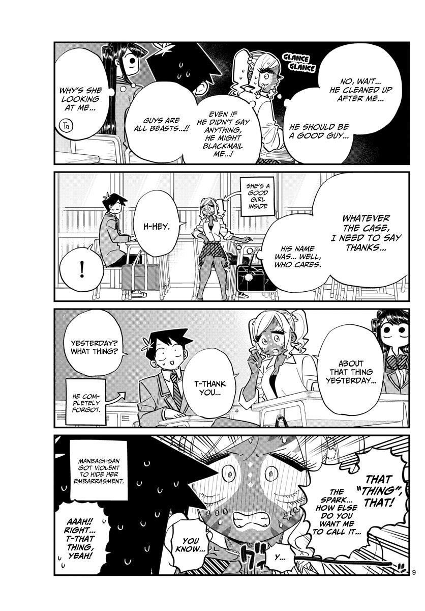 Komi-San Wa Komyushou Desu Vol.10 Chapter 135: Manbagi-San And Tadano-Kun page 2 - Mangakakalot