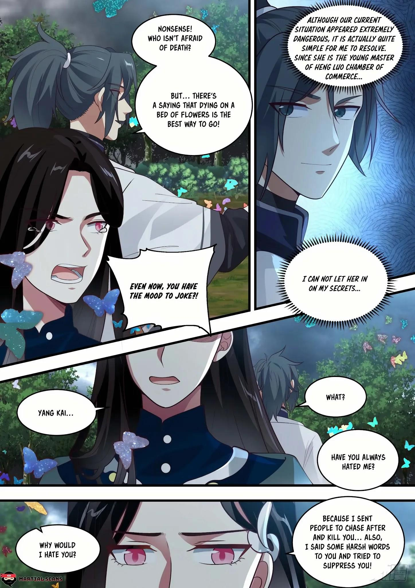 Martial Peak Chapter 1458: You Know How To Feel Shy? page 6 - Mangakakalots.com