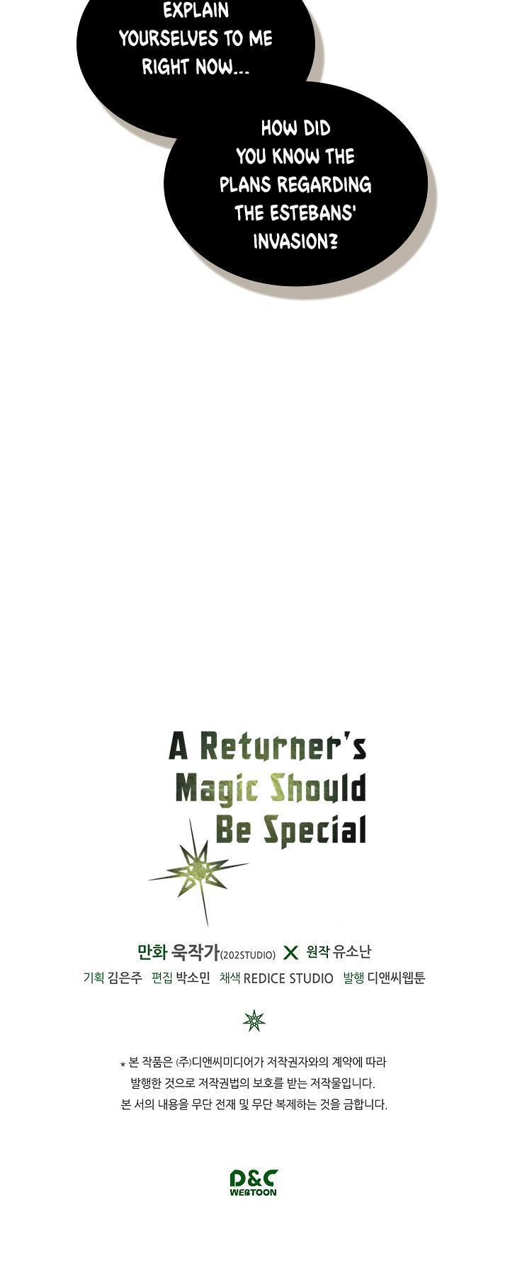 A Returner's Magic Should Be Special Chapter 60 page 38 - Mangakakalots.com