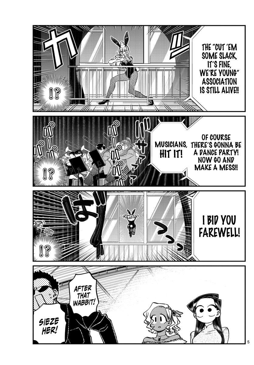 Komi-San Wa Komyushou Desu Chapter 234: The Afterparty page 5 - Mangakakalot