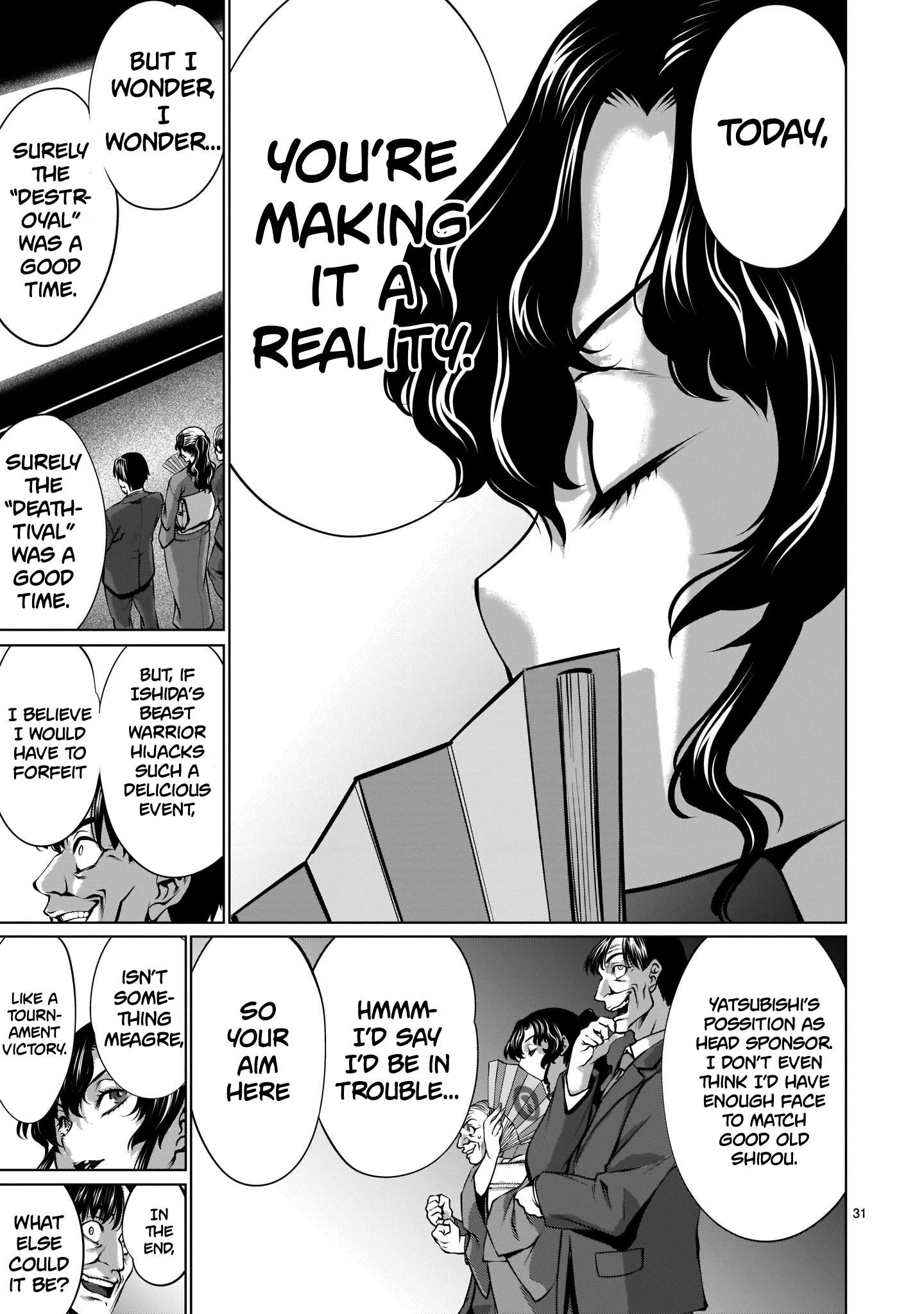 "Killing Bites Chapter 88: ""honestly, I'm Disappointed..."" page 30 - Mangakakalots.com"