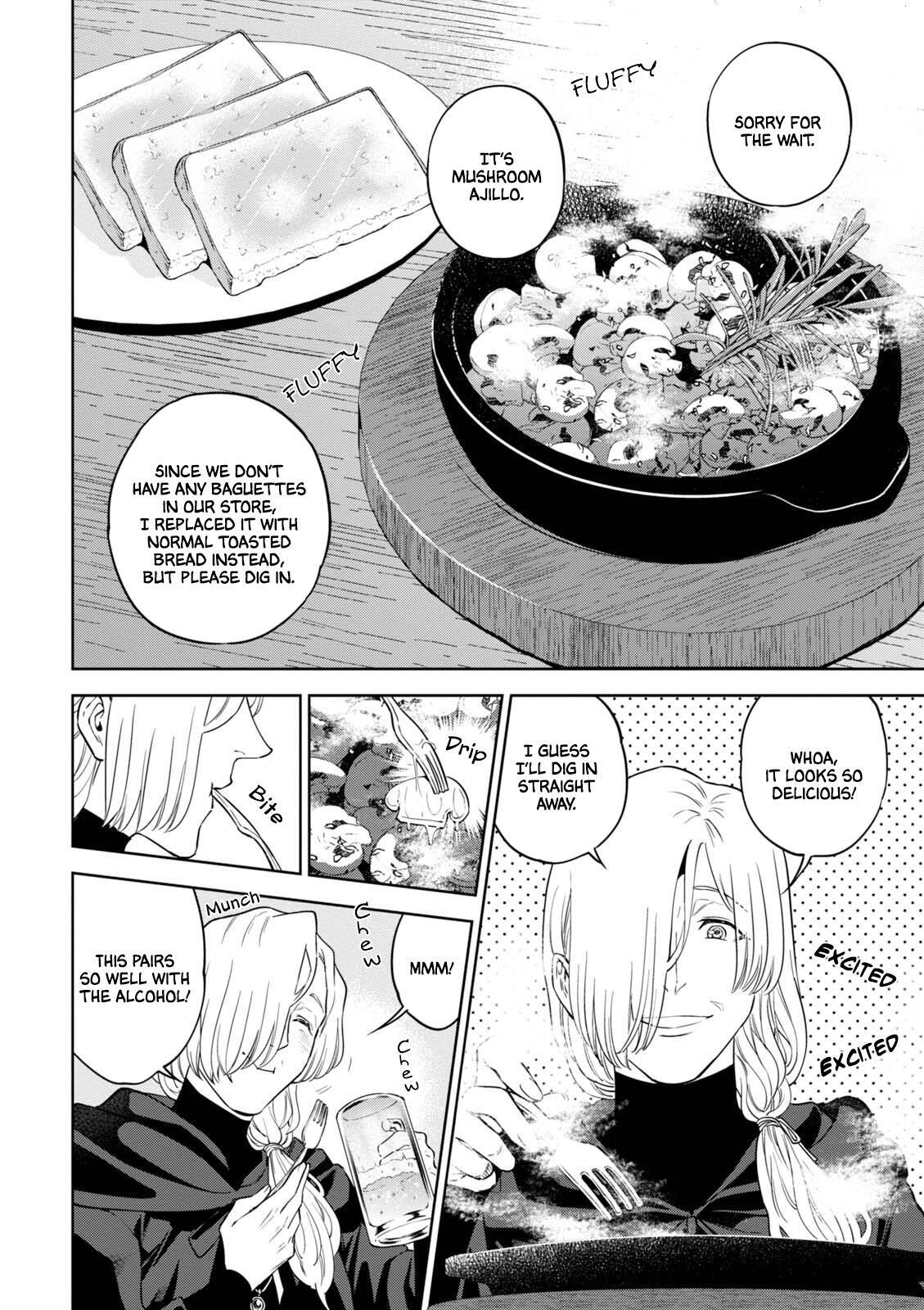 Isekai Izakaya Vol.6 Chapter 35: Mushroom Ajillo page 19 - Mangakakalots.com