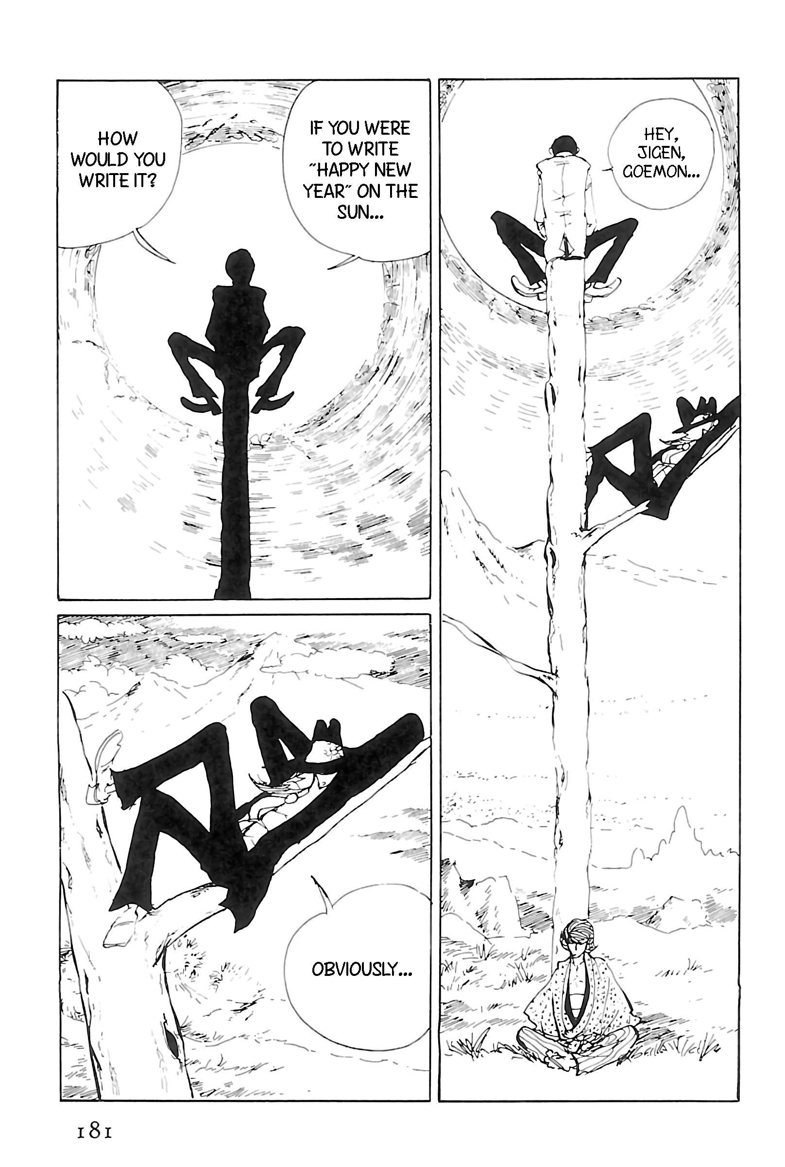 Lupin Iii: World'S Most Wanted Vol.11 Chapter 124: Happy New Year, Lupin! page 3 - Mangakakalots.com