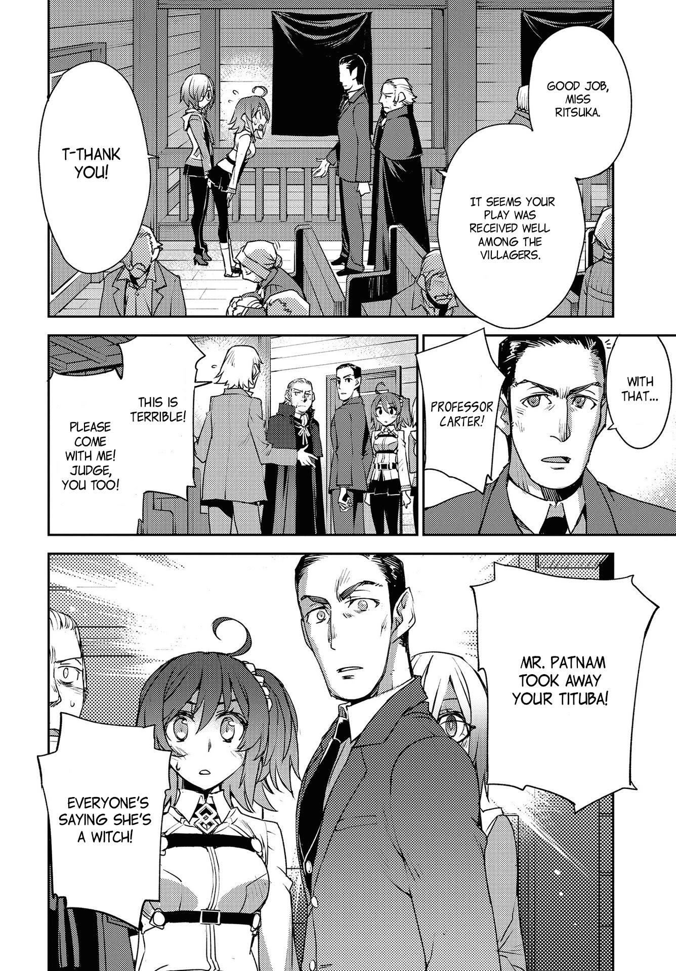 Fate/grand Order: Epic Of Remnant - Subspecies Singularity Iv: Taboo Advent Salem: Salem Of Heresy Chapter 8: Unknot: Before Dawn 7 page 6 - Mangakakalots.com