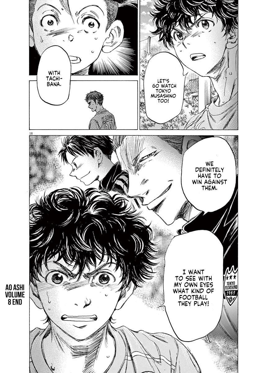 Ao Ashi Vol.8 Chapter 83: Dejected Face page 19 - Mangakakalots.com
