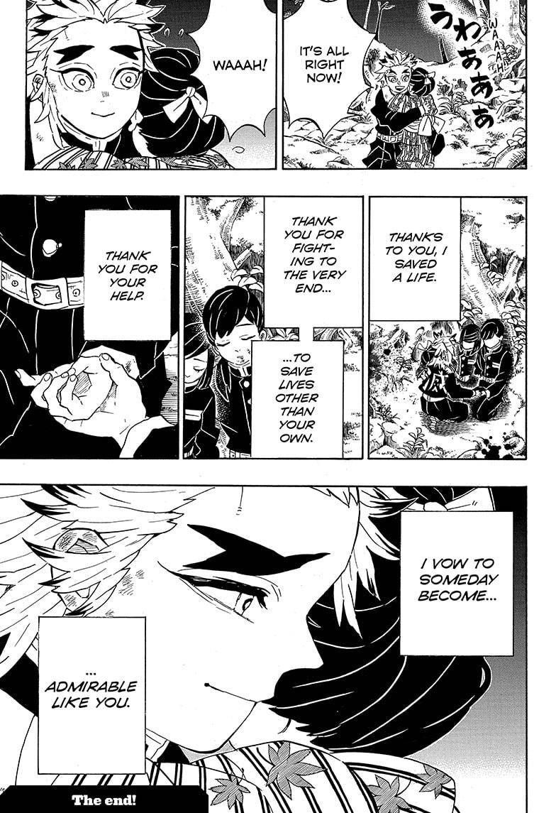 Kimetsu No Yaiba Chapter 205.5: Special One-Shot page 19 - Mangakakalots.com