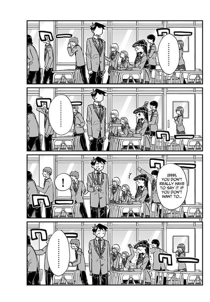 Komi-San Wa Komyushou Desu Vol.5 Chapter 62: Programa Do Festival Cultural page 12 - Mangakakalot