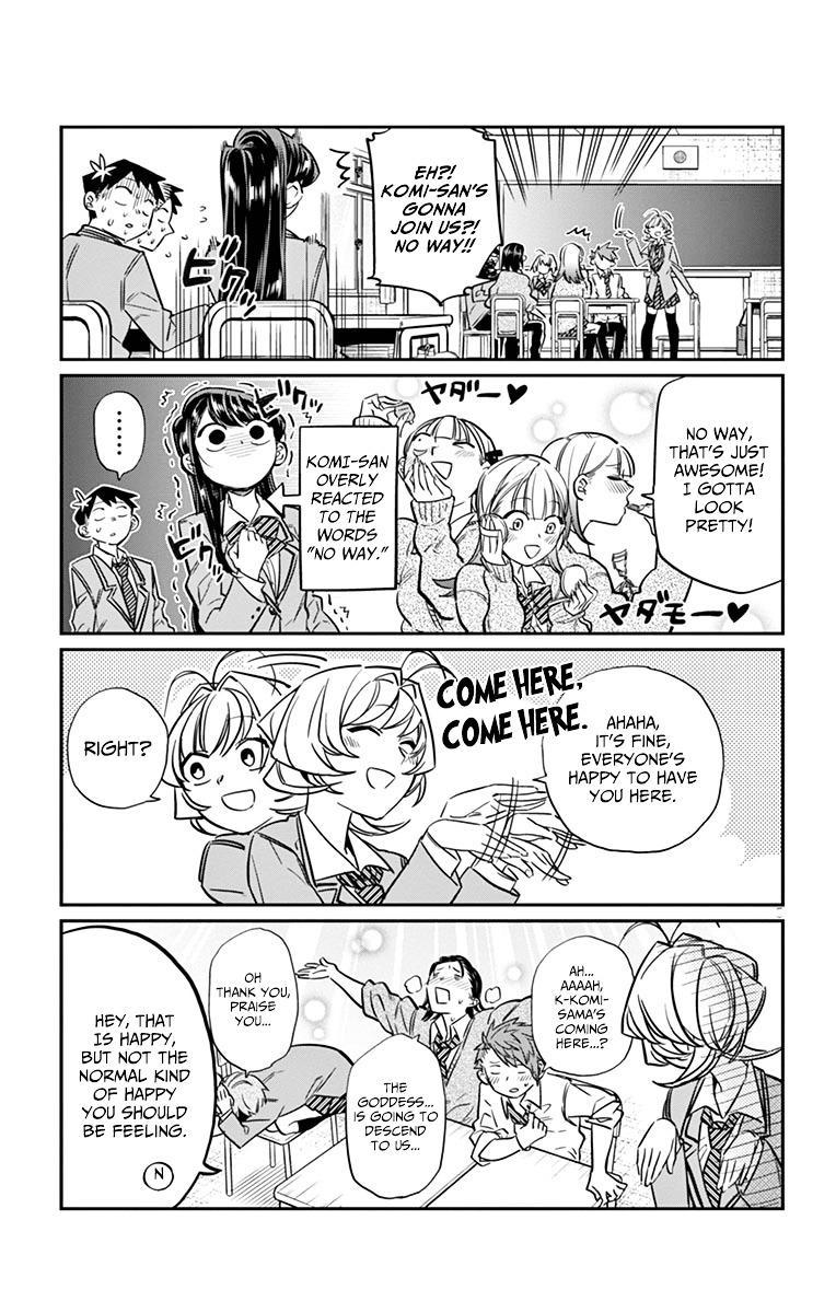 Komi-San Wa Komyushou Desu Vol.1 Chapter 19: Saitou page 5 - Mangakakalot