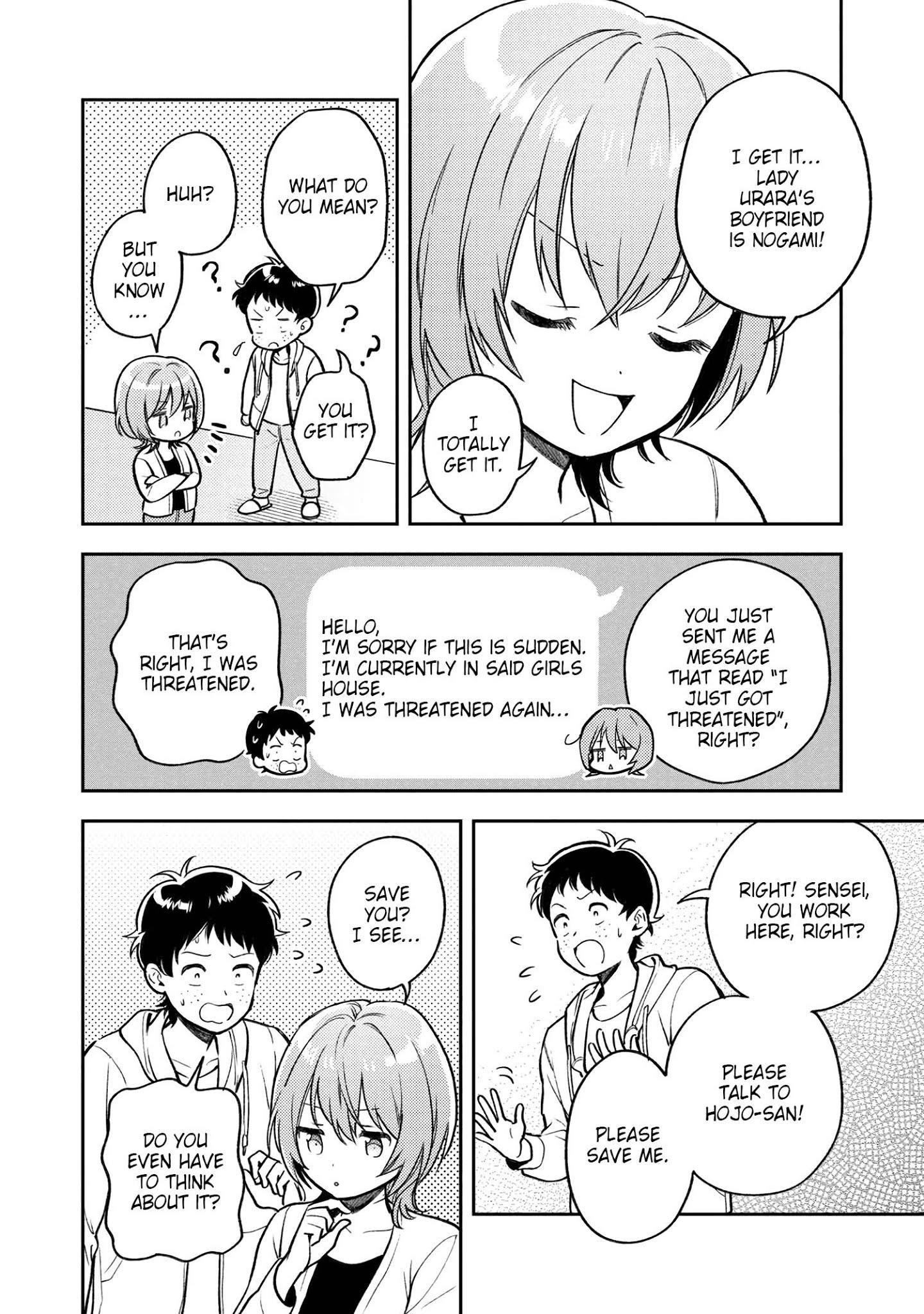 Houjou Urara No Renai Shousetsu O Kaki Nasai! Chapter 7 page 20 - Mangakakalots.com