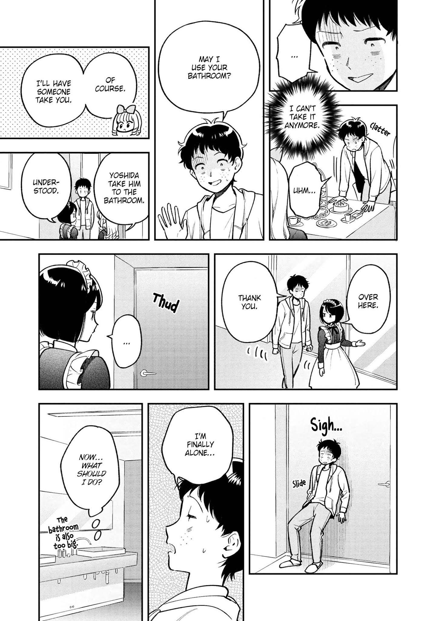 Houjou Urara No Renai Shousetsu O Kaki Nasai! Chapter 7 page 15 - Mangakakalots.com