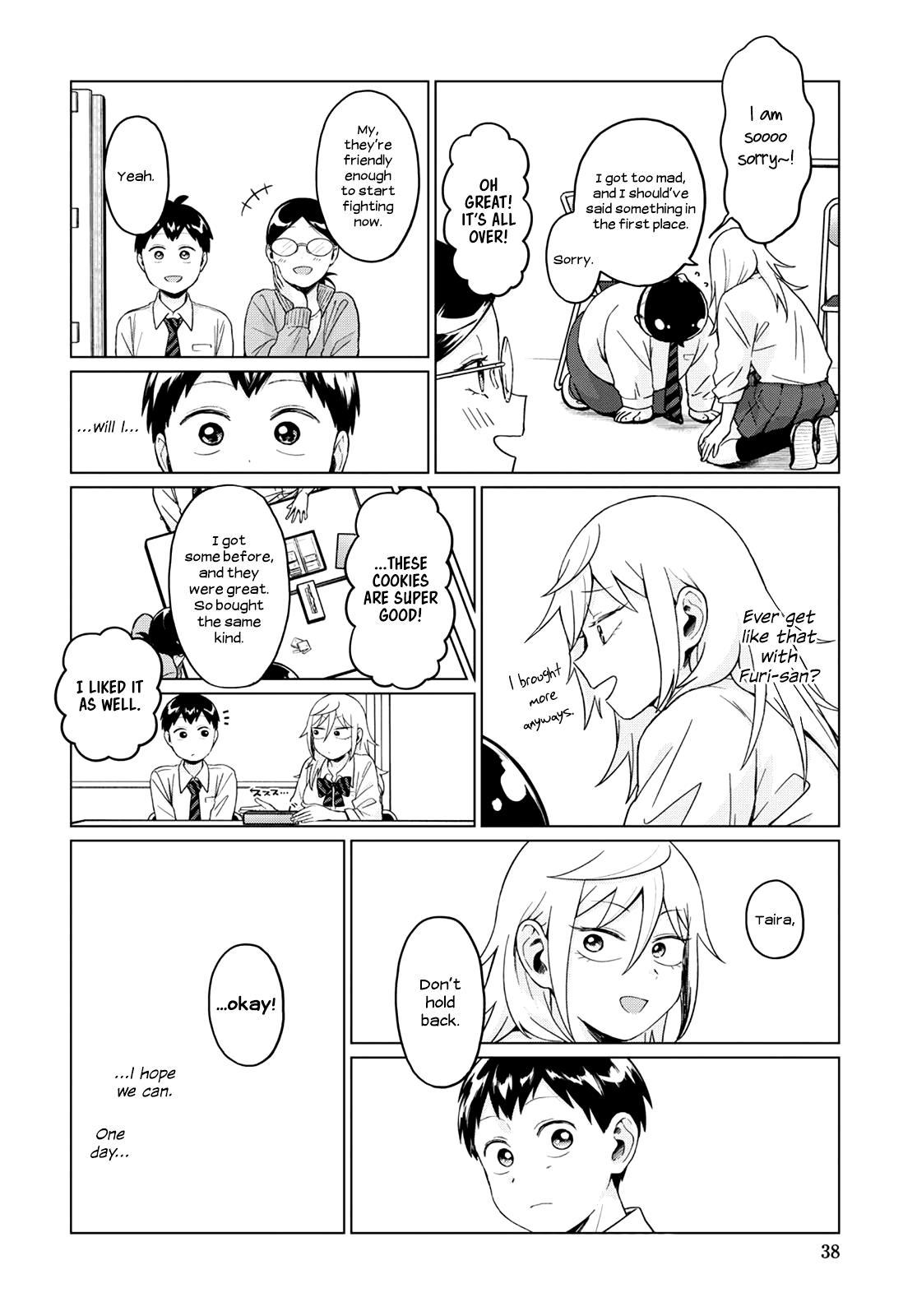 Tonari No Furi-San Ga Tonikaku Kowai Chapter 22 page 14 - Mangakakalots.com