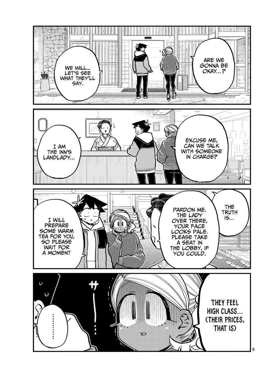 Komi-San Wa Komyushou Desu Chapter 263: Inn page 9 - Mangakakalot