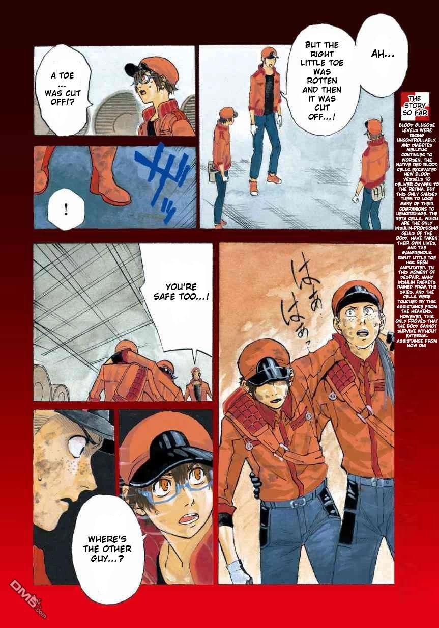 Hataraku Saibou Black Chapter 27: Sleep Apnea, Sentimentality, Reality page 5 - Mangakakalots.com