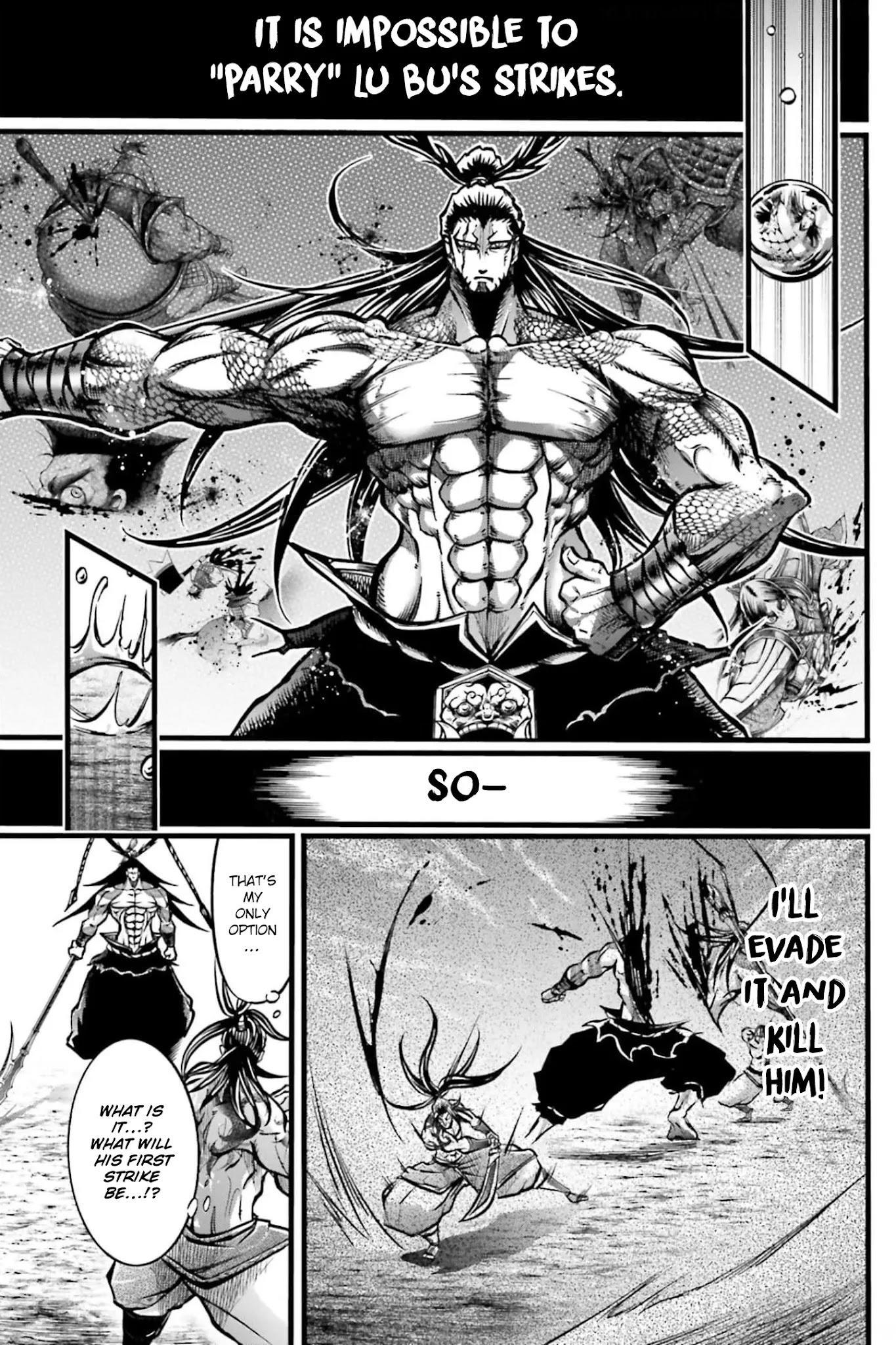 Shuumatsu No Valkyrie: The Legend Of Lu Bu Fengxian Chapter 8 page 14 - Mangakakalots.com