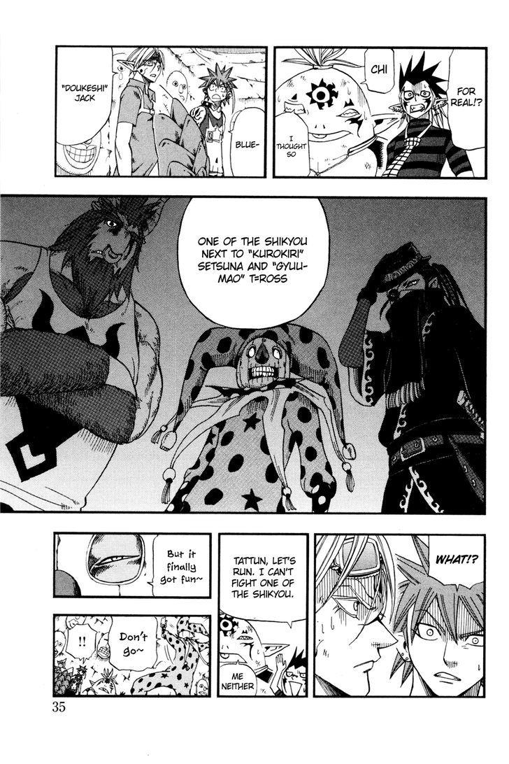 Buster Keel! Vol.7 Chapter 24 : Toys In The Ruins (Part 2) page 35 - Mangakakalots.com