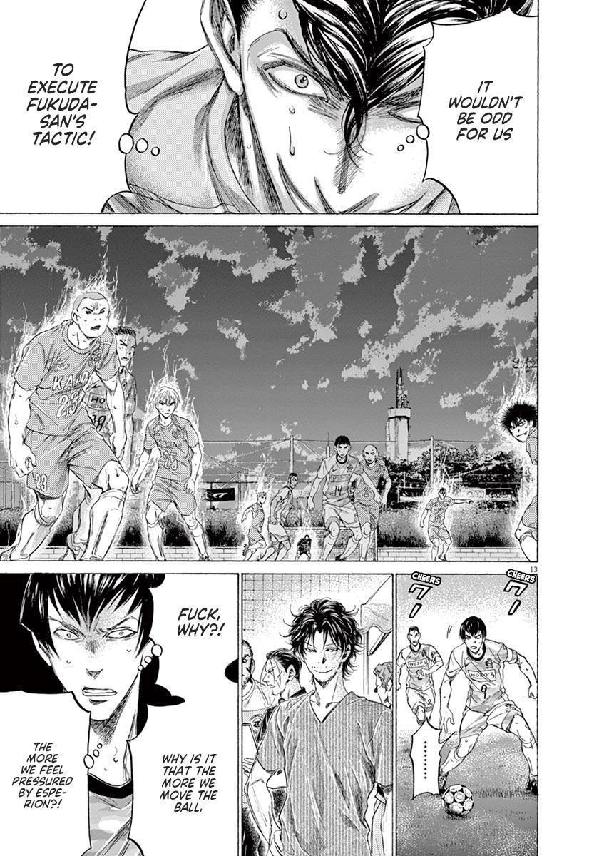 Ao Ashi Vol.16 Chapter 162: Running To The Next Stage page 14 - Mangakakalots.com