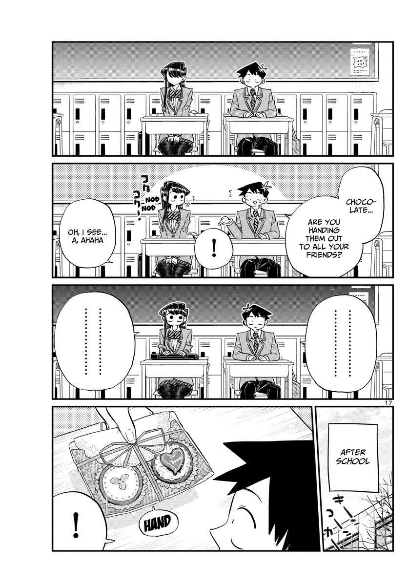 Komi-San Wa Komyushou Desu Vol.9 Chapter 117: Valentine's Day page 17 - Mangakakalot