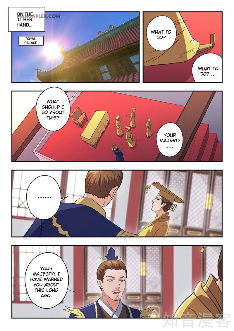 Martial Master Chapter 463: It's Risky page 3 - Mangakakalots.com