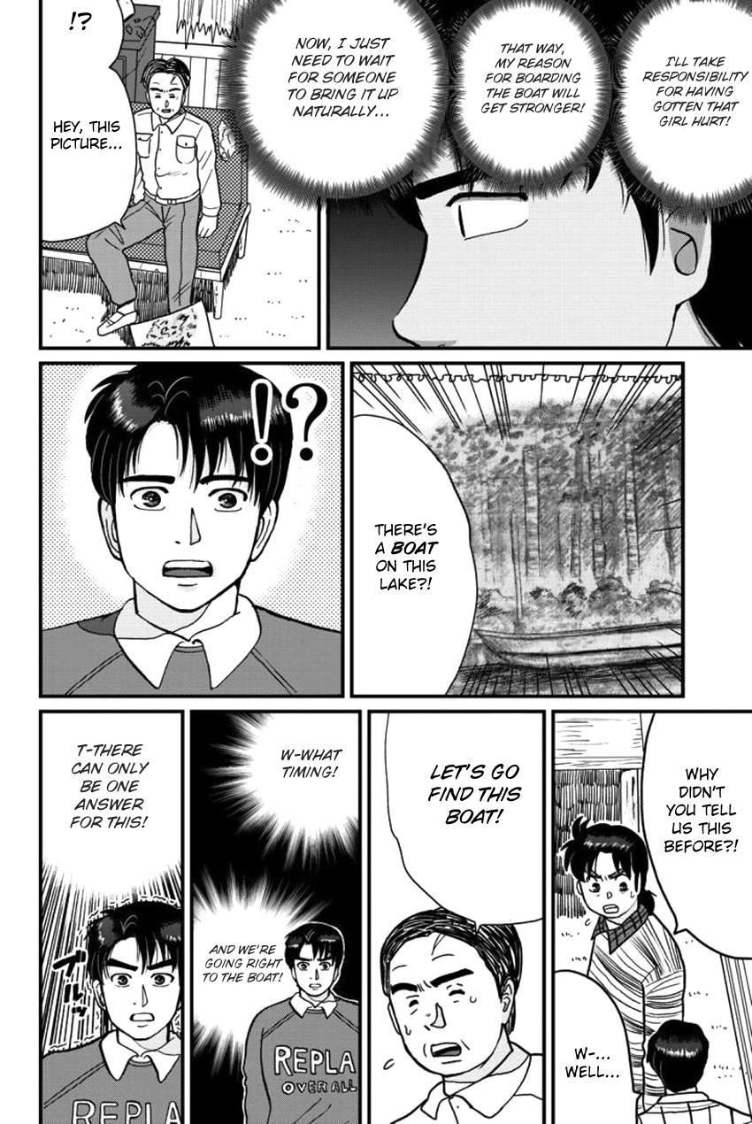 Kindaichi Shounen No Jikenbo Gaiden: Hannin-Tachi No Jikenbo Vol.2 Chapter 24: Hiren Lake Murder Case (3) page 8 - Mangakakalots.com