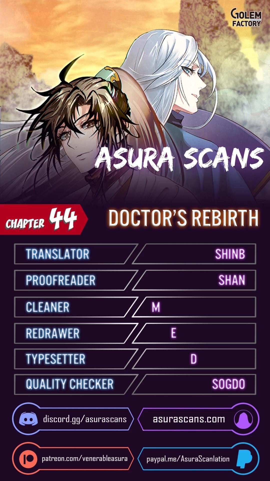 Doctor'S Rebirth Chapter 44 page 1 - Mangakakalots.com