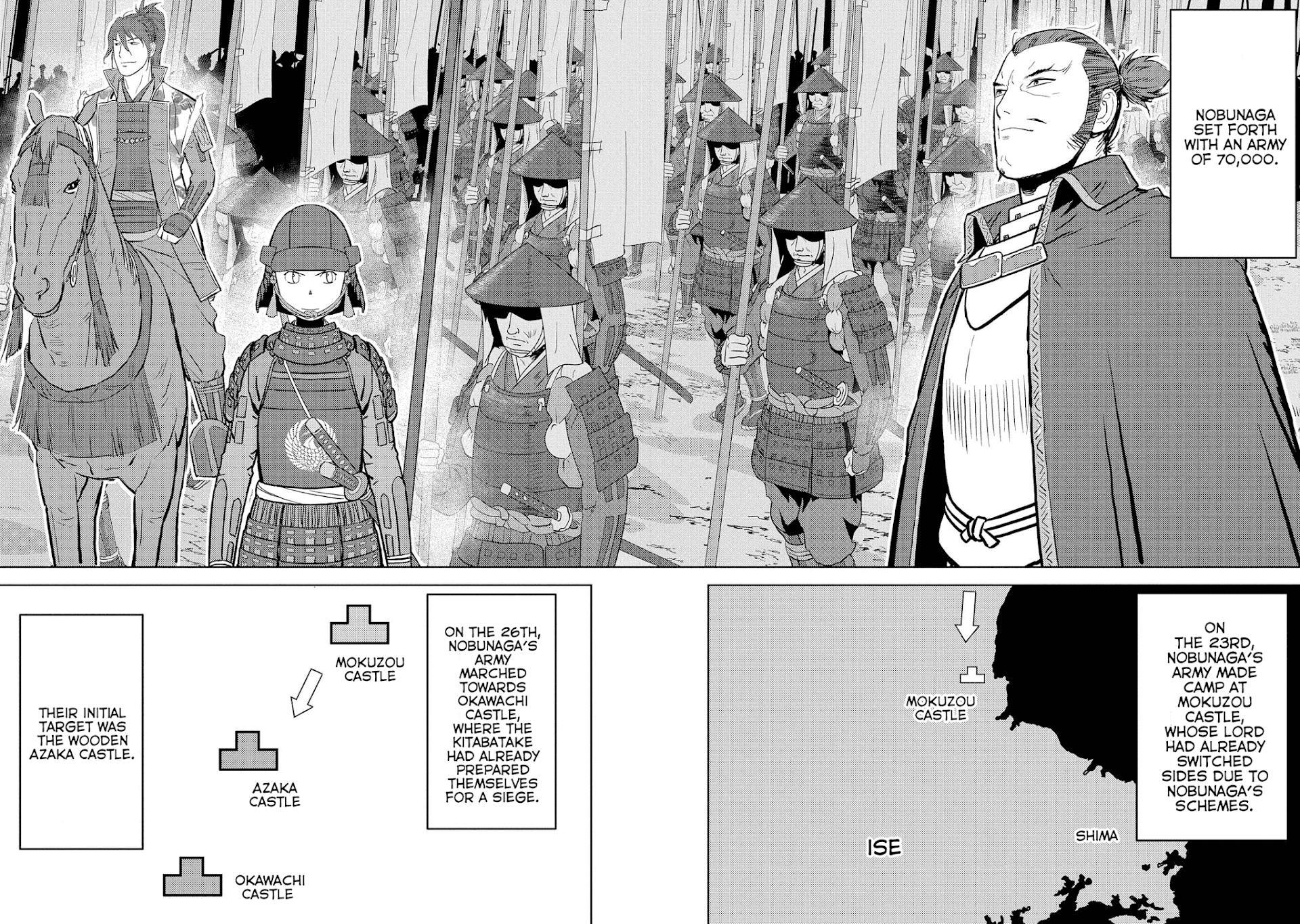 Sengoku Komachi Kurou Tan! Chapter 39 page 9 - Mangakakalots.com