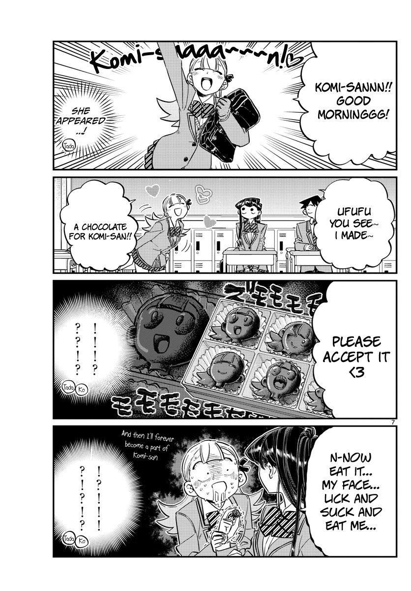 Komi-San Wa Komyushou Desu Vol.9 Chapter 117: Valentine's Day page 7 - Mangakakalot