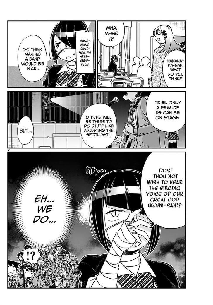 Komi-San Wa Komyushou Desu Vol.5 Chapter 62: Programa Do Festival Cultural page 7 - Mangakakalot