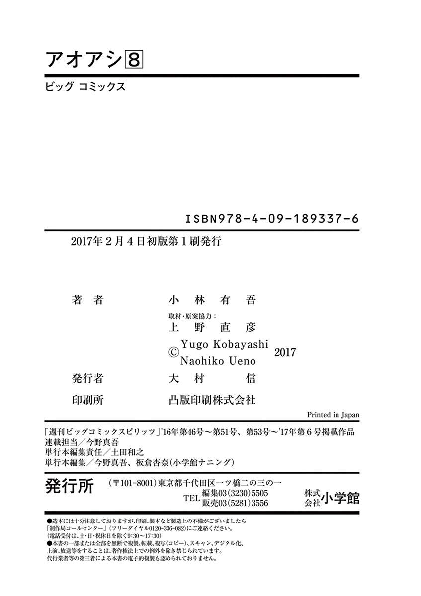 Ao Ashi Vol.8 Chapter 83: Dejected Face page 23 - Mangakakalots.com