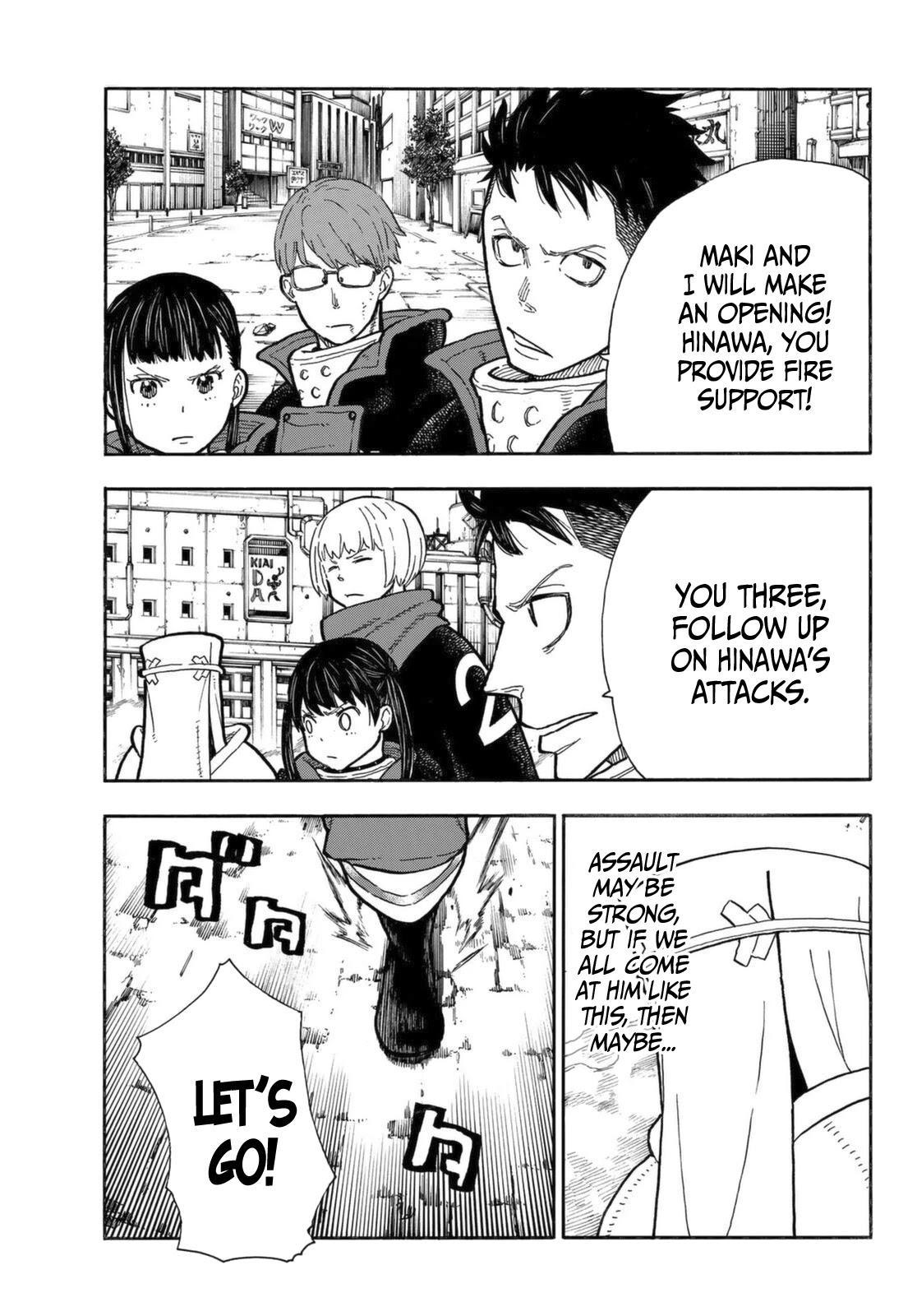 Enen No Shouboutai Chapter 279: Suppressing Assault page 5 - Mangakakalot