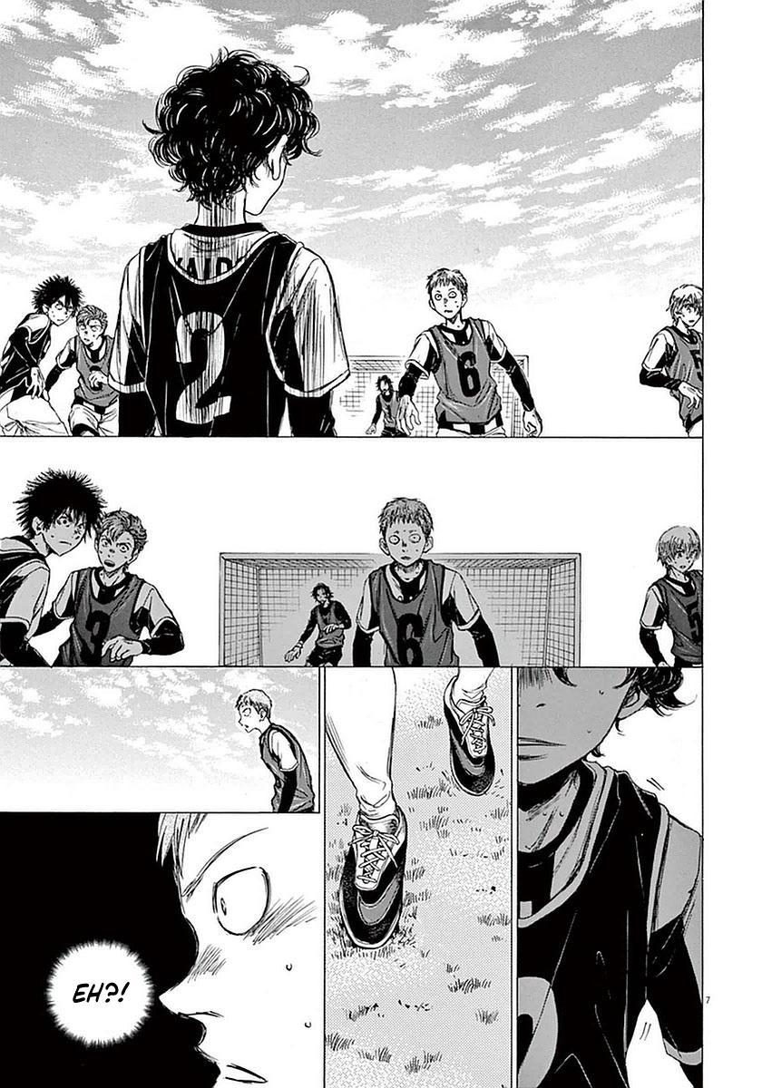 Ao Ashi Vol.4 Chapter 30: Walk page 7 - Mangakakalots.com