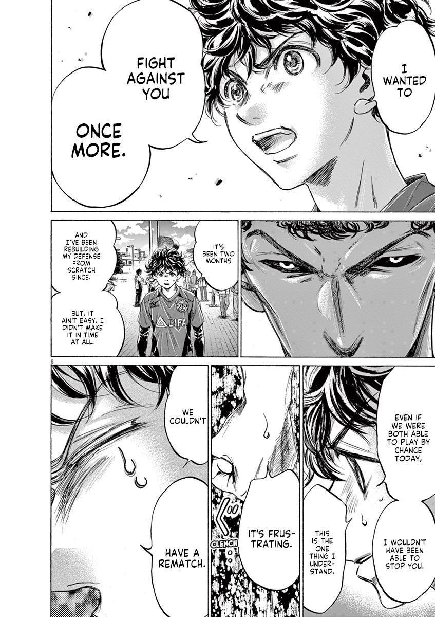 Ao Ashi Vol.21 Chapter 217: Hopefully We Meet Again page 8 - Mangakakalots.com