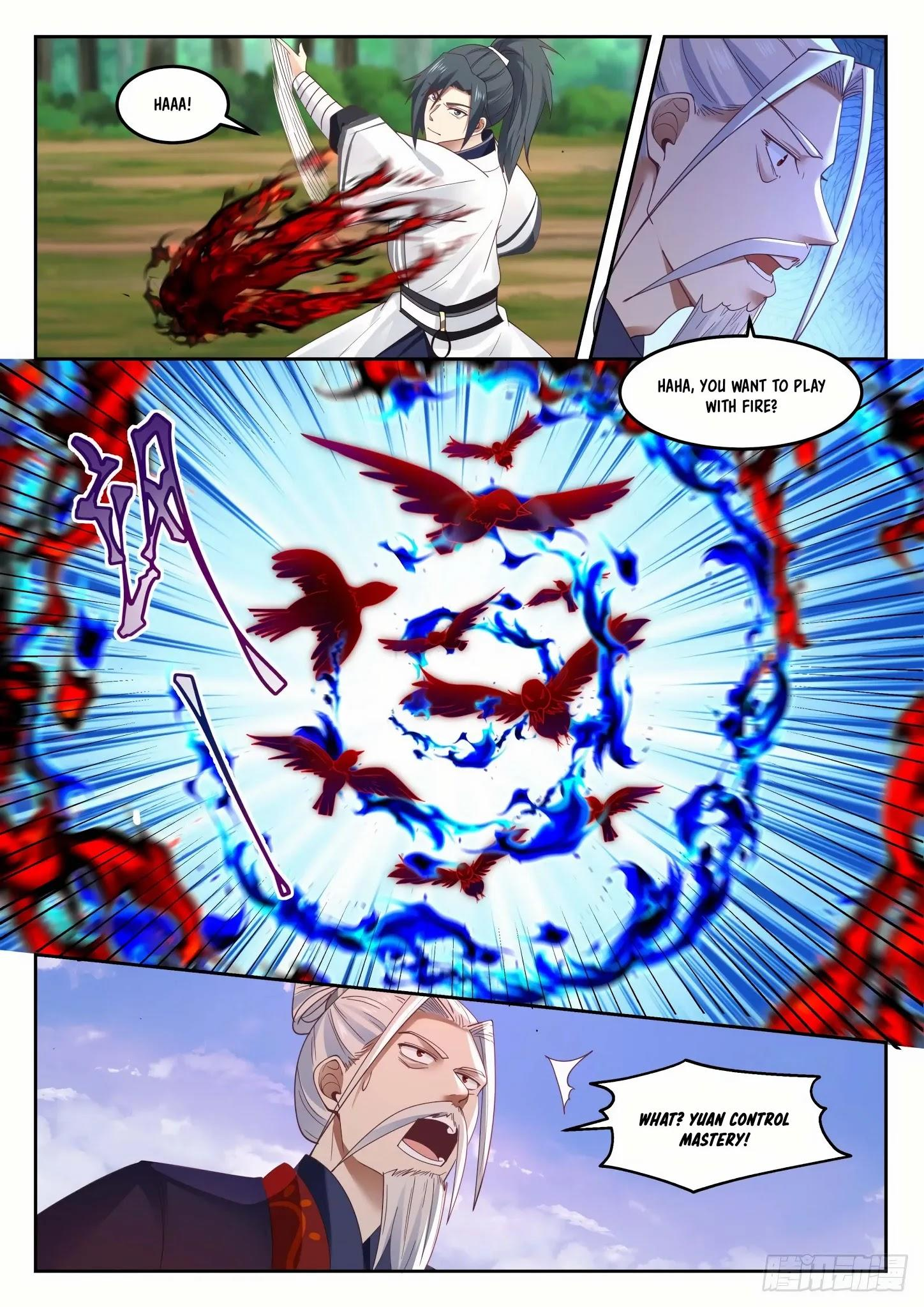 Martial Peak Chapter 1313: Heaven Scorching Thunder Fire page 3 - Mangakakalots.com