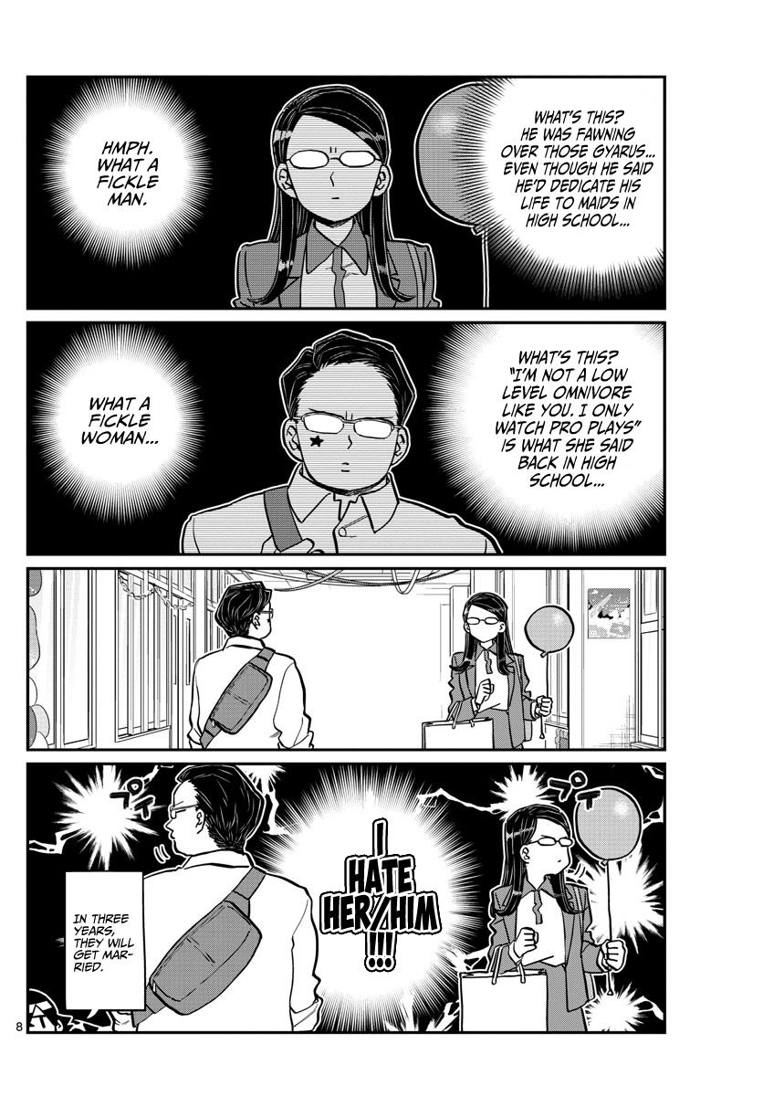 Komi-San Wa Komyushou Desu Chapter 238: Looking Back At The Festival page 8 - Mangakakalot