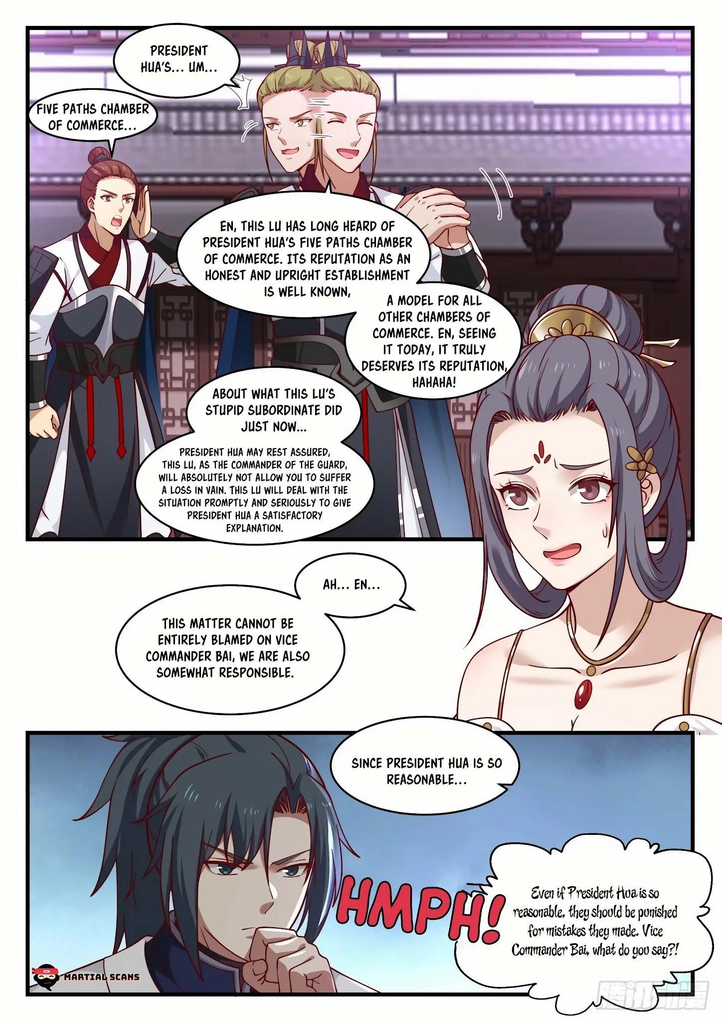 Martial Peak Chapter 1505: Purple Star Order page 4 - Mangakakalots.com