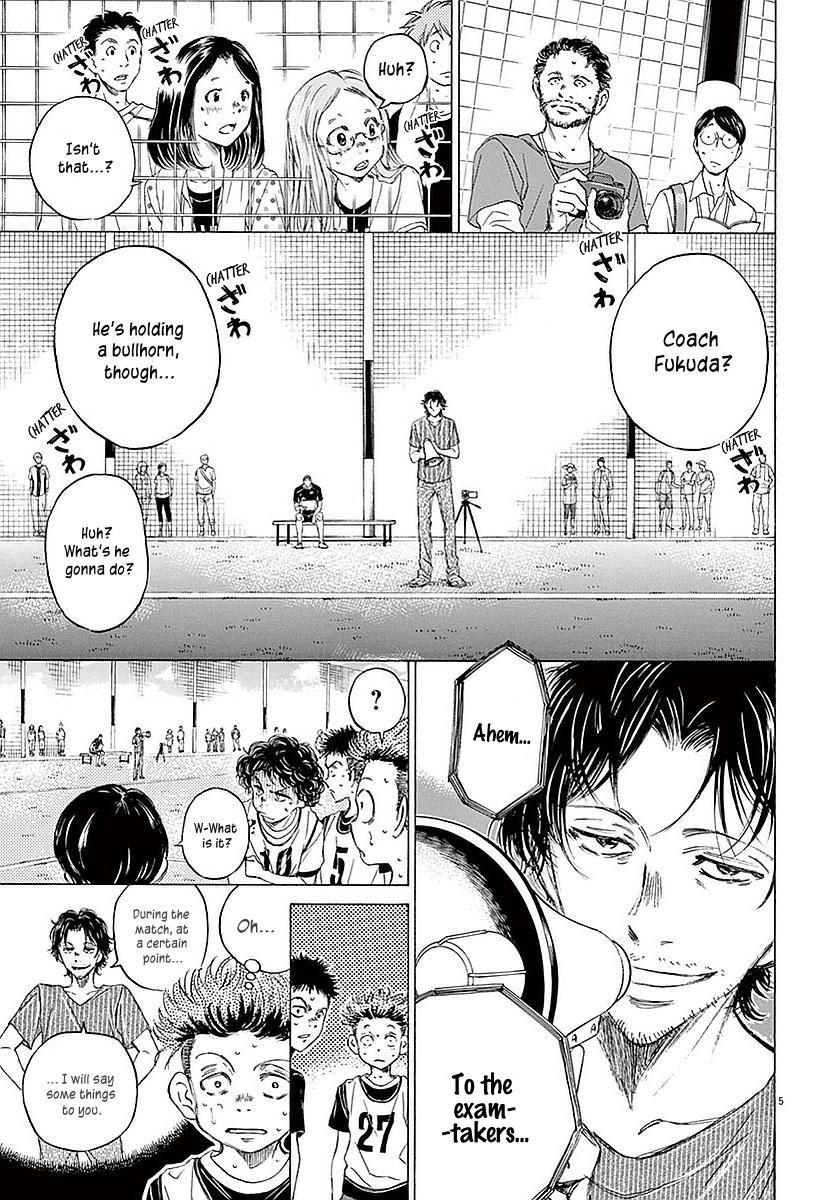 Ao Ashi Vol.2 Chapter 13: Telling The Exam-Takers page 6 - Mangakakalots.com