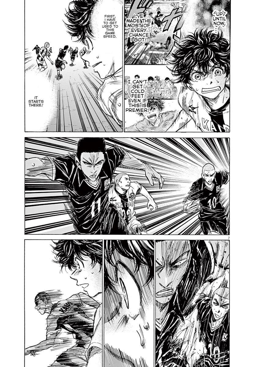 Ao Ashi Vol.13 Chapter 129: Keep One's Word page 8 - Mangakakalots.com