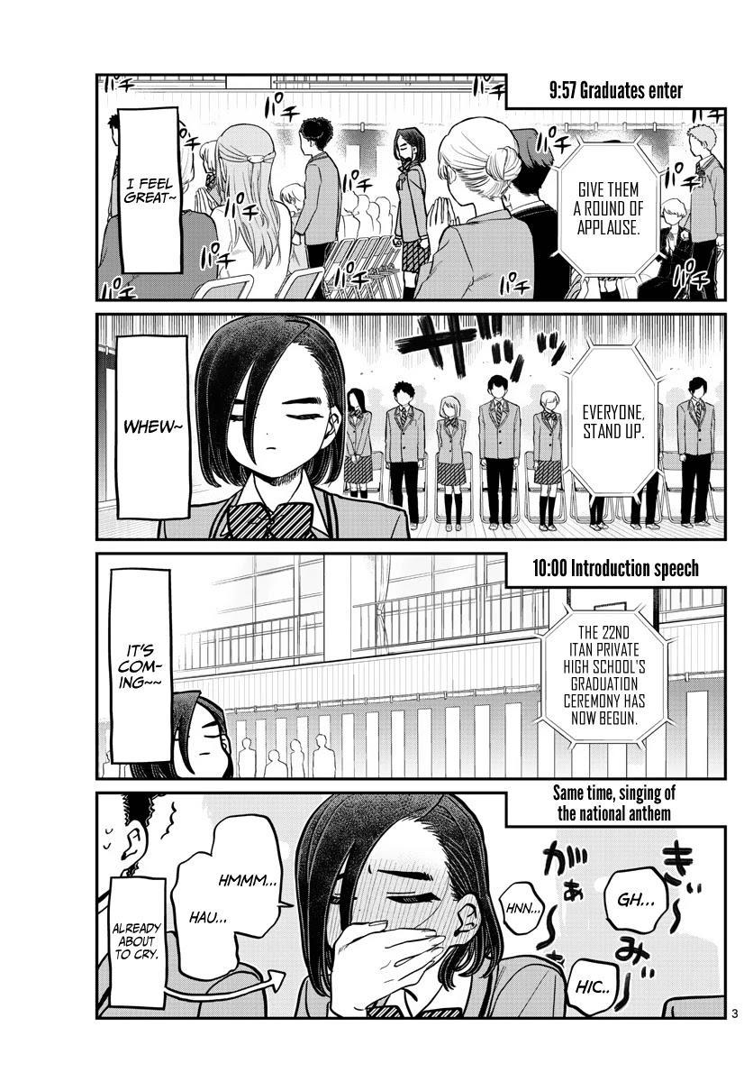 Komi-San Wa Komyushou Desu Chapter 315: Congratulations On Graduating page 3 - Mangakakalot