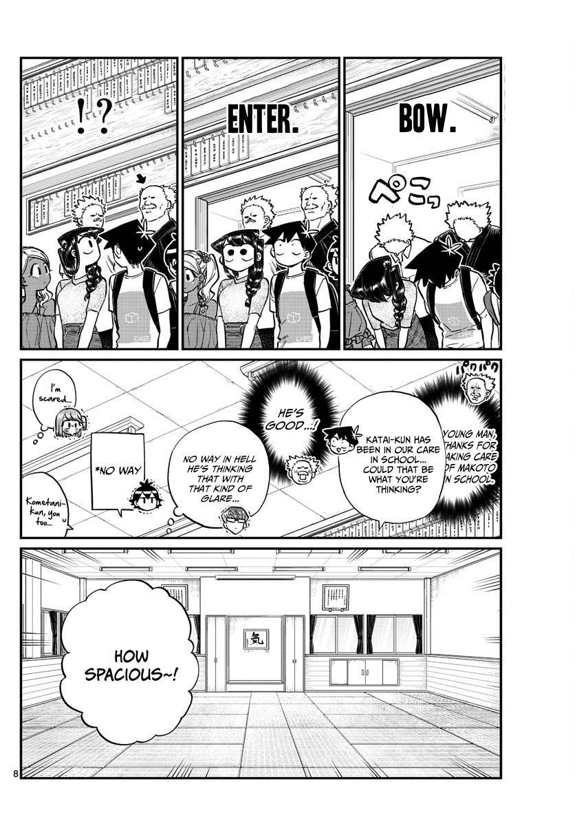Komi-San Wa Komyushou Desu Vol.13 Chapter 179: Tremble! The Katai Clan! page 8 - Mangakakalot