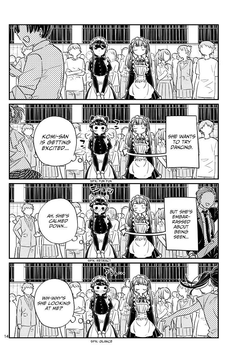 Komi-San Wa Komyushou Desu Vol.5 Chapter 72: Dance Party page 5 - Mangakakalot