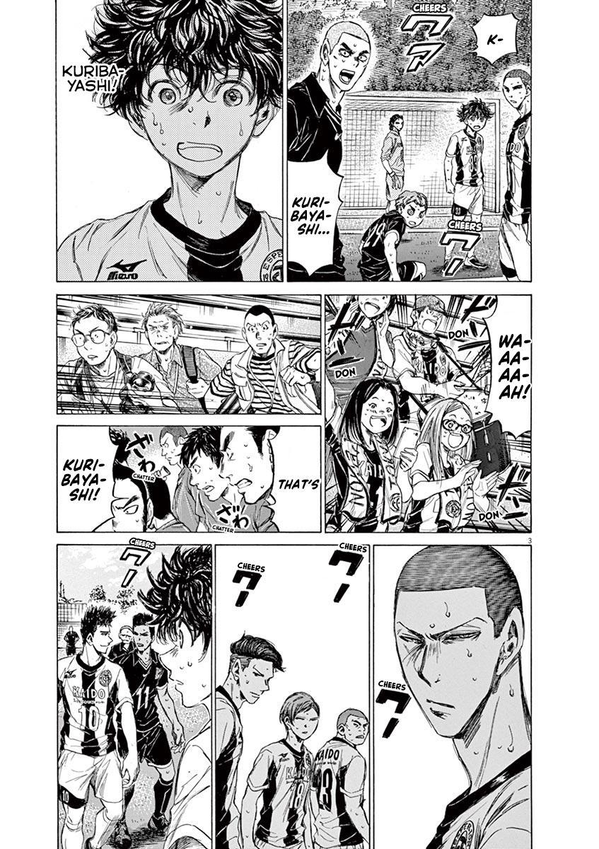 Ao Ashi Vol.13 Chapter 134: Like A Demon, Almost Like A Demon page 4 - Mangakakalots.com