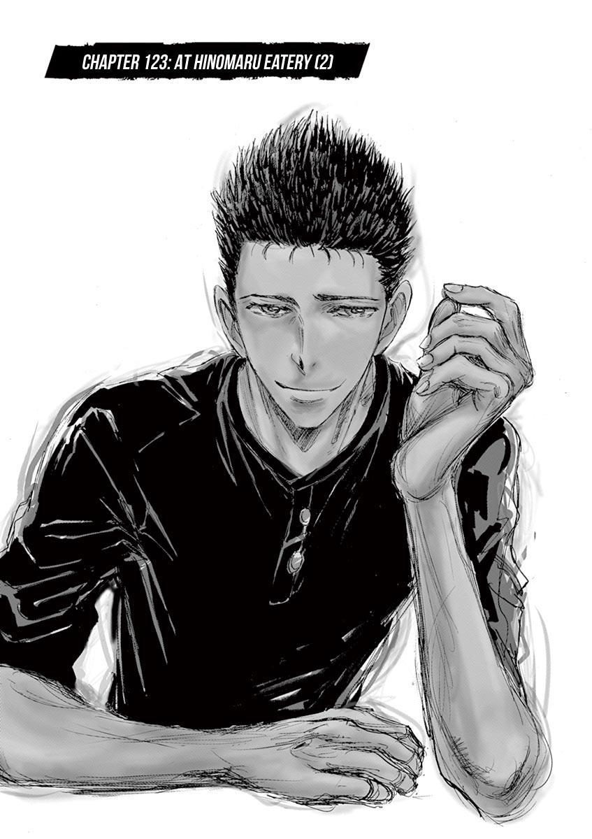 Ao Ashi Chapter 123: At Hinomaru Eatery (2) page 3 - Mangakakalots.com